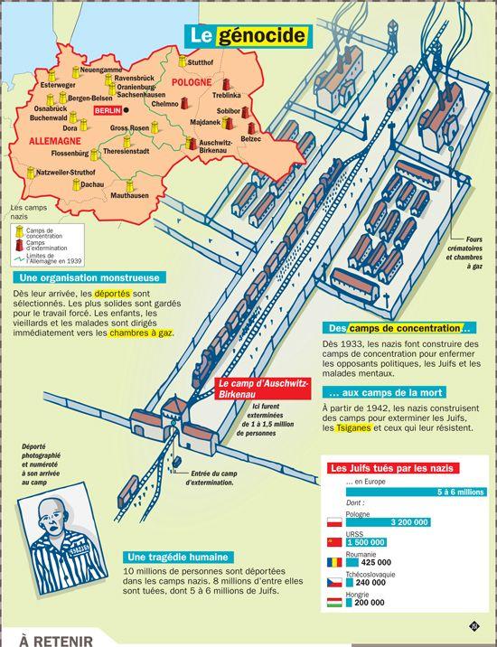 27 janvier - Journée de la mémoire de l'Holocauste et de la prévention des crimes contre l'humanité - słownictwo 3 - Francuski przy kawie