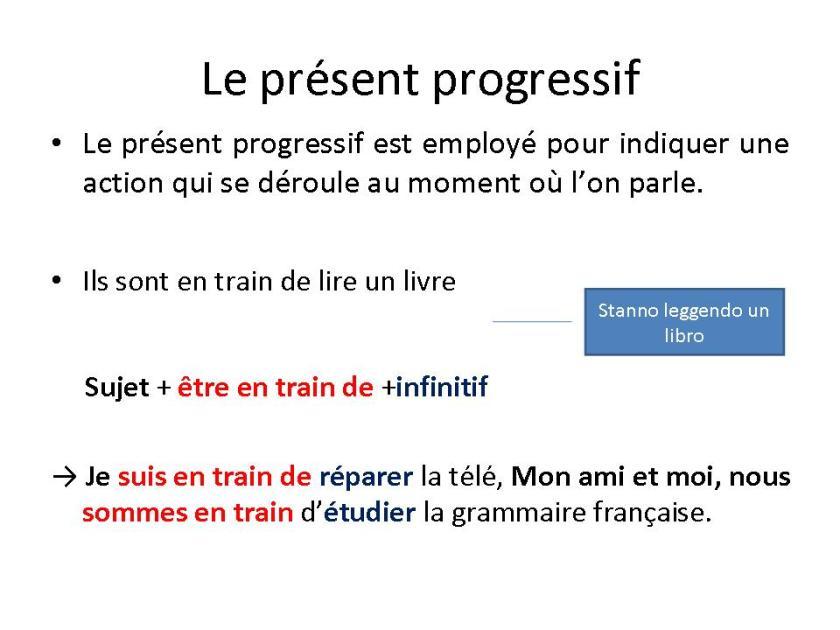 Présent continu - gramatyka 1 - Francuski przy kawie