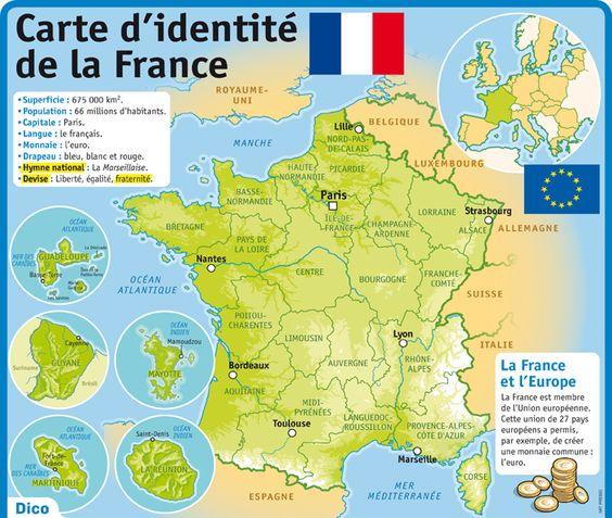 Geografia Francji - Mapa Francji - Francuski przy kawie