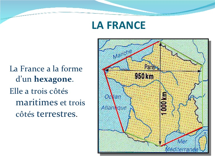 Geografia Francji - informacje 1 - Francuski przy kawie