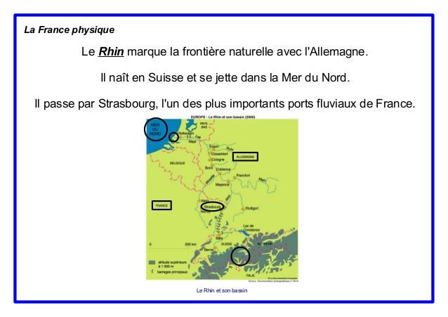 Geografia Francji - rzeki we Francji 7 - Francuski przy kawie