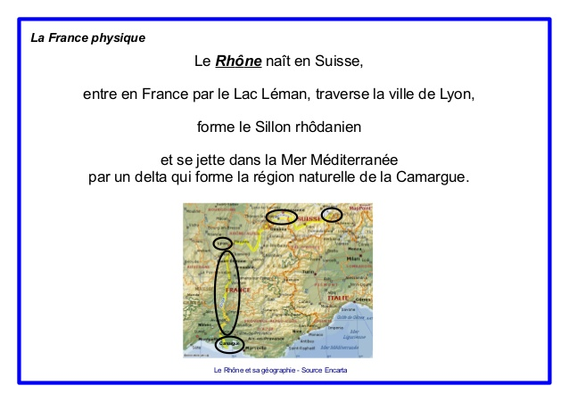 Geografia Francji - rzeki we Francji 5 - Francuski przy kawie