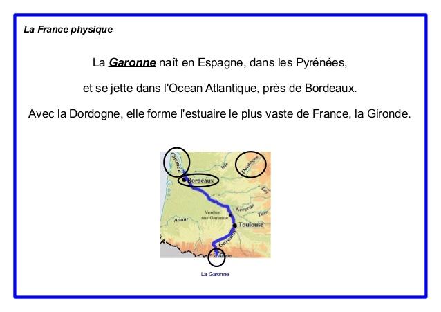 Geografia Francji - rzeki we Francji 6 - Francuski przy kawie